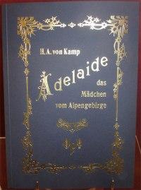 Adelaide von H.A. von Kamp (1830), entdeckt in der Bahnhofunterführung Bad Ragaz