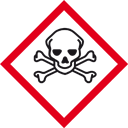 Die Schweiz hat die Gefahrensymbole dem internationalen Standard angepasst. Symbol für hochgiftig. http://www.cheminfo.ch/kennzeichnung/anwendende/gefahrensymbole.html