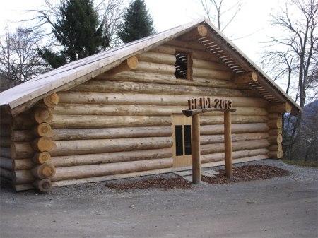 Heidi-Hütte oberhalb Maienfeld