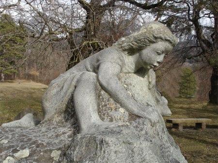 Heidibrunnen oberhalb Maienfeld
