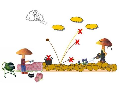 ... wenn ein starker Wind über ein nacktes Feld hinweg bläst, trägt er oft Erde mit - wohin? Pflanzen und Mykorrhiza-Pilze schützen. Copyright V. Graf, SLF, Plants and mycorrhizal fungi in wind erosion control<br />  http://www.slf.ch/ueber/organisation/oekologie/gebirgsoekosysteme/projekte/Schutzwirkung_Pflanzen/index_EN ...