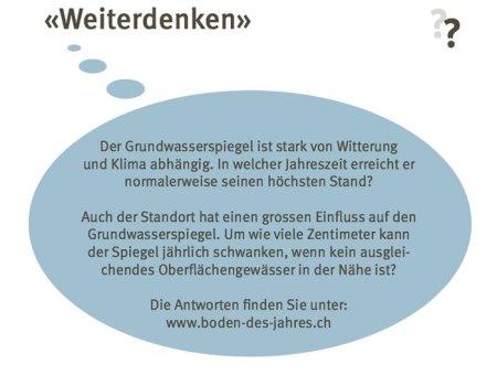 Copyright: Bodenkundliche Gesellschaft der Schweiz (BGS)