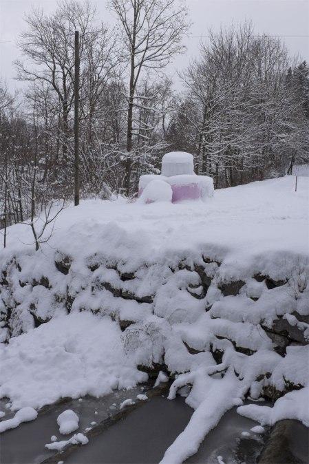Winterstimmung an der Sitter bei Appenzell. Copyright Hans Walder, Name von der Redaktion geändert.