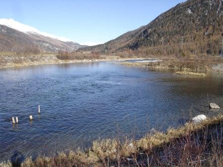Die Revitalisierung der Inn-Auen bei Bever dient dem Hochwasserschutz und der Natur.
