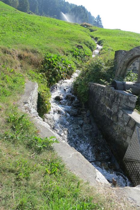 Zielkonflikte zwischen verschiedenen Wassernutzungen werden sich in Zukunft akzentuieren, z.B. Bewässerung in der Landwirtschaft und natürliche Gewässerökologie.