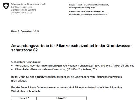 """Wer jetzt einen Link auf dieses wichtige Dokument des Bundesamts für Landwirtschaft in einem Artikel von Heidi anklickt, erhält die Antwort: """"No resource found""""."""