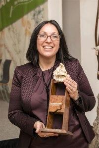 Bèatrice gewinnt den ersten Umweltpreis von CulumNatura. Copyright Wilhelm Luger GmbH.