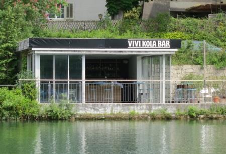 In der Vivi Kola Bar am Rhein in Eglisau ist Orang Utan Kaffee erhältlich.