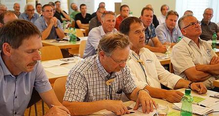 Vertreter der Kantonalverbände an der Delegiertenversammlung des Schweizerischen Fischerei-Verbandes SFV. Copyright: SFV.