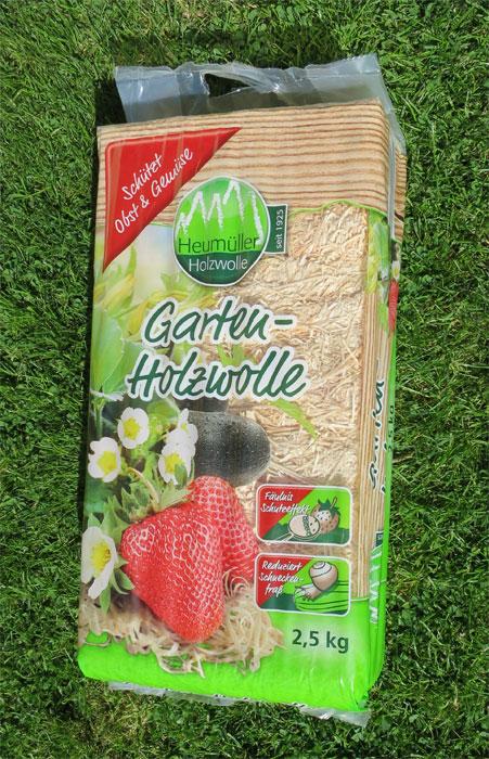 Die Landi importiert aus Deutschland Holzwolle der Firma Heumüller, Geiselwind.
