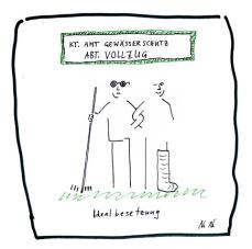 NaNa hat die Situation treffend gezeichnet. Heidi hat diesen Cartoon bereits am 15.6.17 veröffentlicht, doch man kann es nicht genug zeigen: Es mangelt an Vollzug! Immer wieder Misthaufen im Feld!