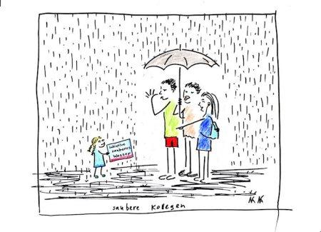 ktueller Stand der Trinkwasser-Initiative: 77'233 Unterschriften. Die Grünen haben bisher kein Interesse gezeigt, sich zu engagieren, im Gegensatz zu Umweltorganisationen.