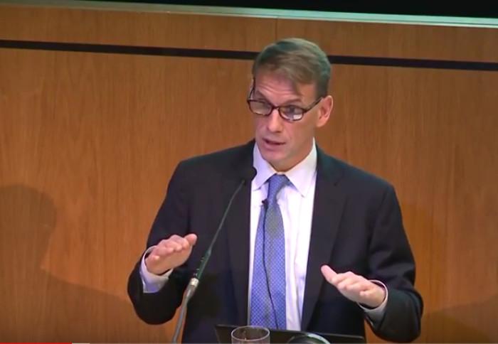 Sam Myers, Direktor von Planetary Health Alliance, Prof. Harvard University. Copyright: Academy of Medical Sciences.