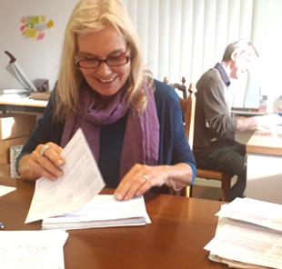 Die letzten Unterschriftenbogen wurden am 29.12.17 zur Beglaubigung verschickt.