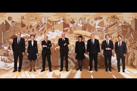 Offizielles Bundesratsfoto 2018, selbstaufklärend!