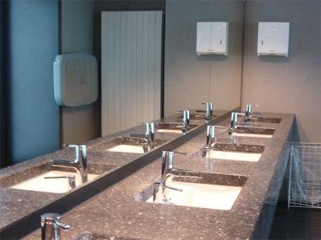 Toiletten Europaallee Zürich