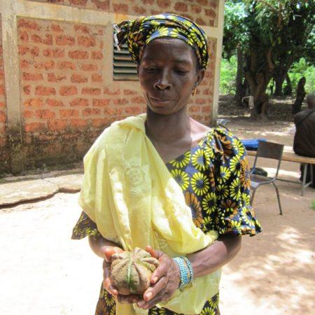 Kleinbäuerin in Burkina Faso. Copyright: FIAN, Mit Menschenrechten gegen den Hunger, Deutschland