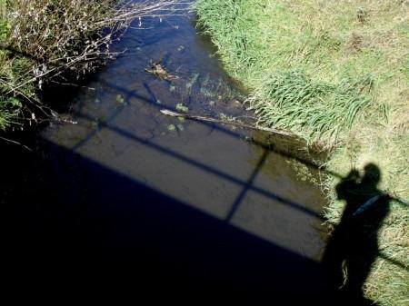 Heidi kann Bäche zwar fotografieren, aber sie sieht nicht, ob Pestizide im Wasser sind.