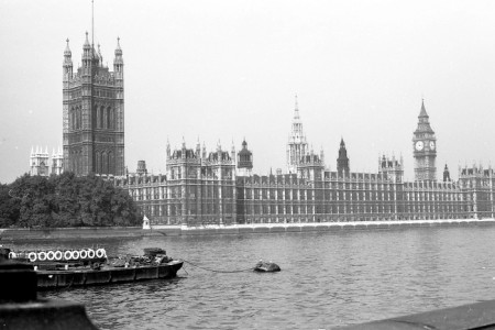 London: Die Themse vor 50 Jahren.