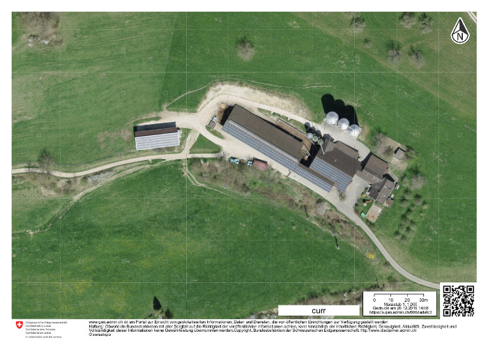 So sieht der Bauernhof heute aus.