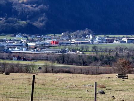 """Rheintal, eine von vielen """"Entwicklungsregionen""""."""