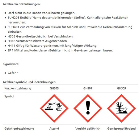 """Duplosan KV-Combi, Pflanzenschutzmittelverzeichnis Bundesamt für Landwirtschaft, Stand 19.6.20. Der """"Name des sensibilisierenden Stoffes"""" ist nicht vermerkt. """"Wieso?"""", frägt sich Heidi."""