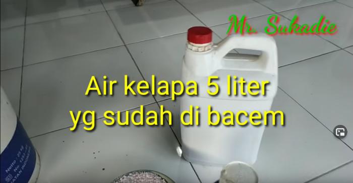5 Liter Kokosnusswasser