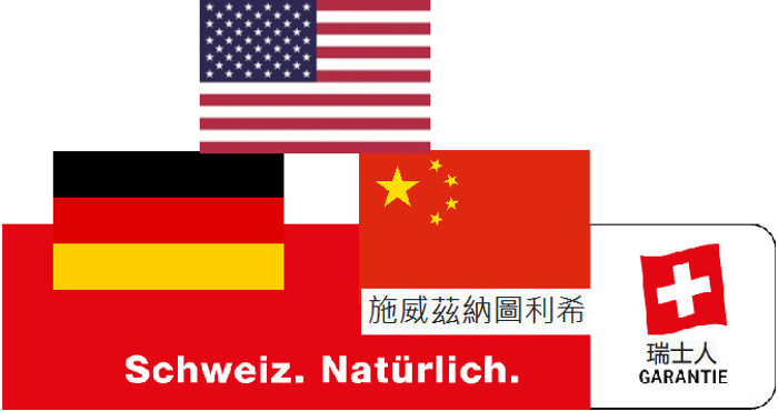 Heidis Versuch, das Suisse Garantie Signet zu aktualisieren.