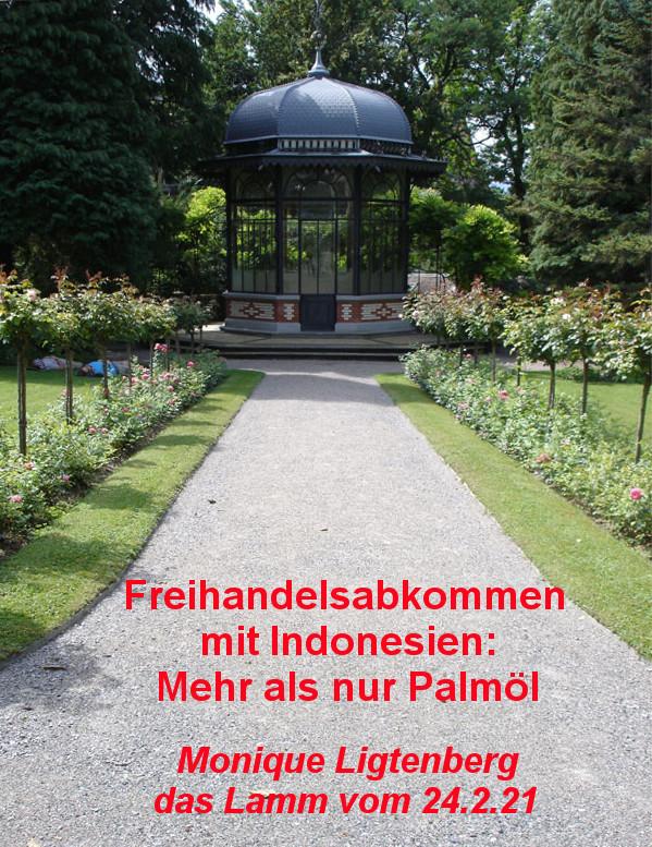Karl Fürchtegott Grob kehrte als reicher Mann aus Sumatra in die Schweiz zurück. Im Zürcher Seefeld baute er die pompöse Villa Patumbah, die heute das Schweizer Heimatschutzzentrum beherbergt. Auf dem Foto von Heidi der Gartenpavillon im Villenpark.