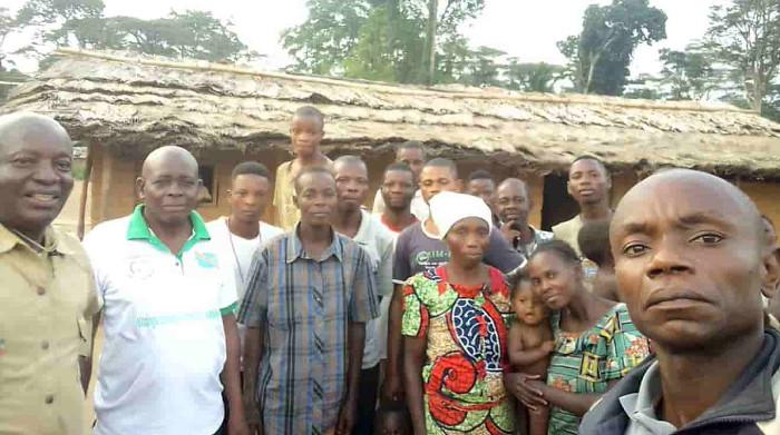 Die Einwohner von mehr als 100 Dörfern sind von den Palmölplantagen der Firma PHC betroffen. Copyright RIAO-RDC