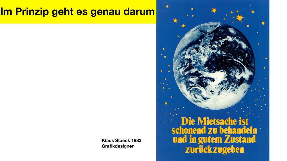 Copyright: Klaus Staeck 1983
