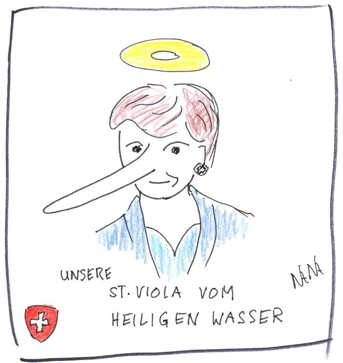 Abstimmungsempfehlung von Viola Amherd in der Tagesschau SRF vom 30.5.21