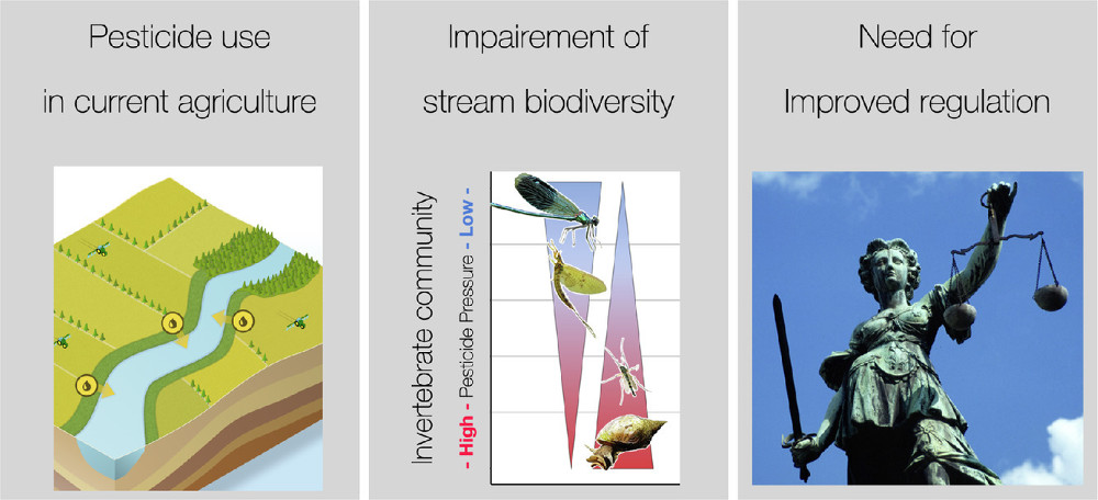 Pesticides are the dominant stressors for vulnerable insects in lowland streams. Water Research Volume 201, 1 August 2021, 117262