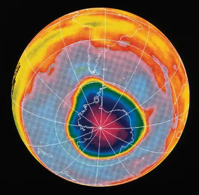 Stickstoffverschmutzung kann die Ozonschicht zerstören. NASA/SCIENCE PHOTO LIBRARY