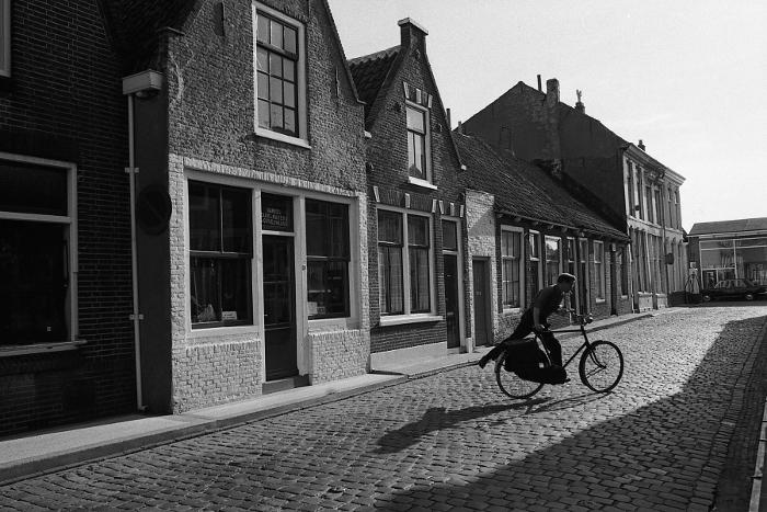 Strasse in Holland im Jahre 1971