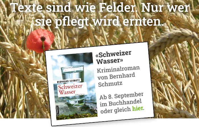 schreibknecht.ch, die Homepage von Bernhard Schmutz