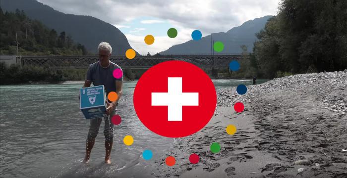 UN-Nachhaltigkeitsziel 6: Sauberes Wasser und sanitäre Einrichtungen. Video mit Ernst Bromeis, Wasserbotschafter und Expeditionsschwimmer