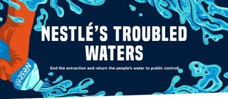 Kampagne für die öffentliche Kontrolle über das Wasser